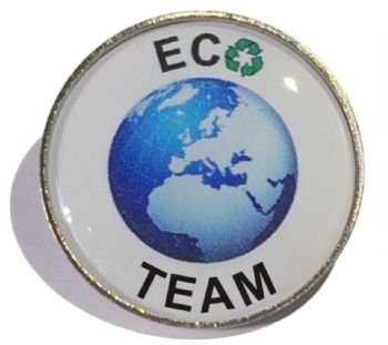 ECO TEAM round badge